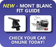 Mont Blanc Roof Bar and Cycle Carrier Fit Guide